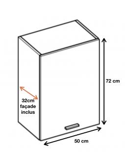 Dimension du meuble W5.