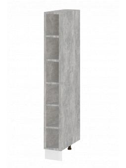 Colonne de cuisine - étagère ouverte, L 20 cm