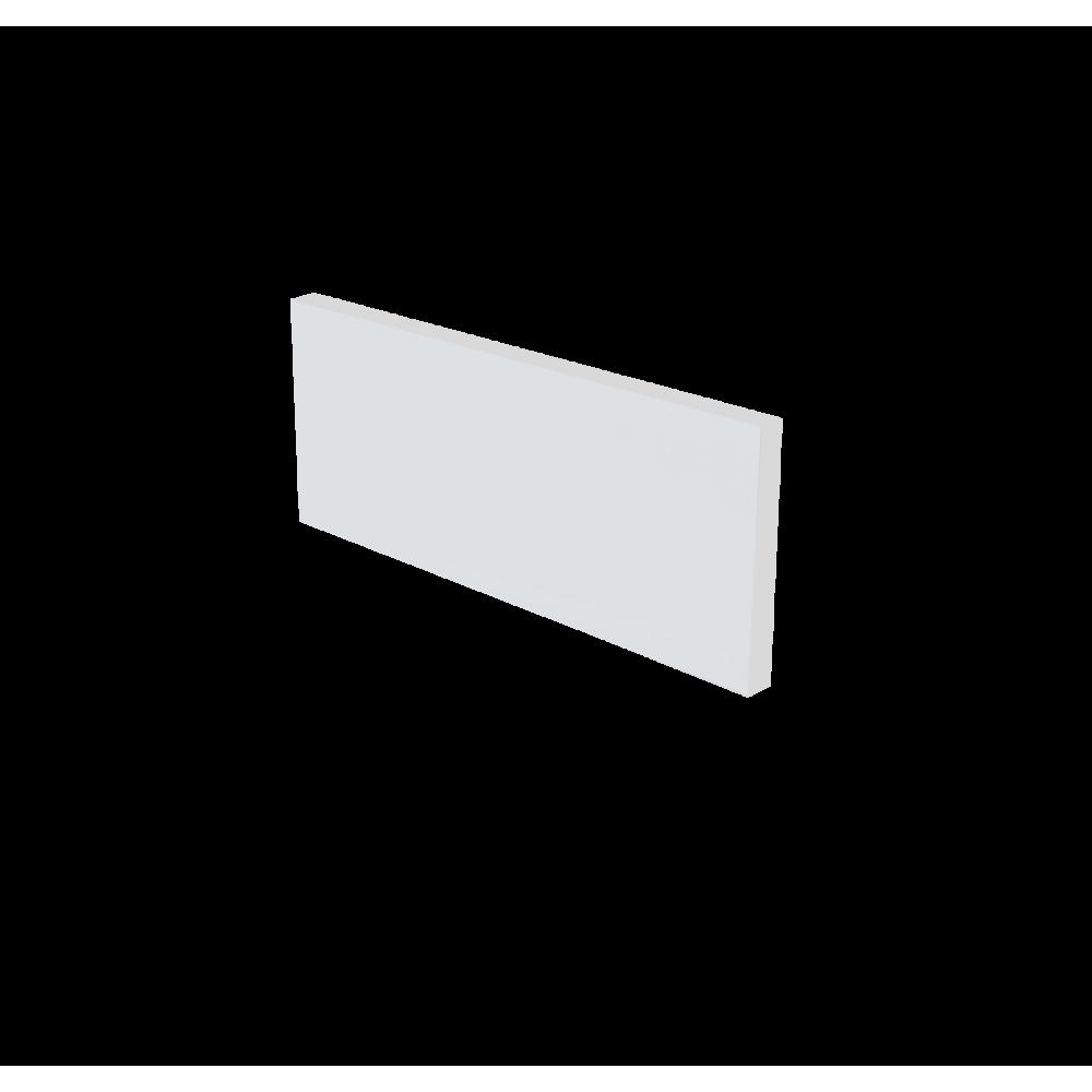 Plinthe de cuisine 180 cm - Blanc mat