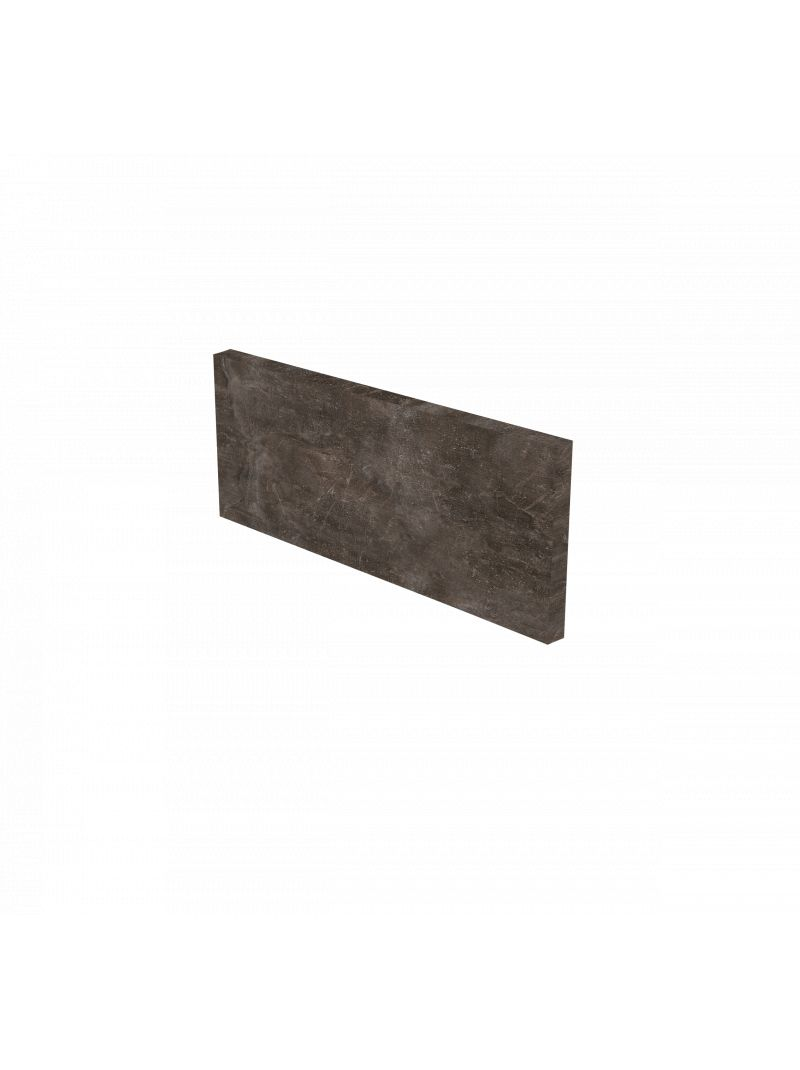 Plinthe de cuisine 180 cm - Décor Béton gris ardoise