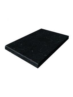 Plan de travail Noir Marquina - Longueur 184 cm