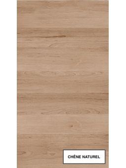 Plan de travail Chêne naturel - Longueur 184 cm