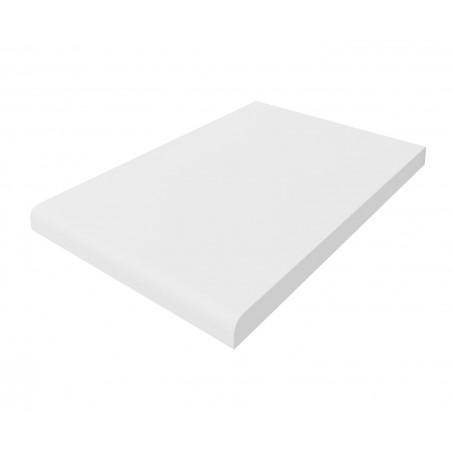 Plan de travail Blanc mat, 184 cm