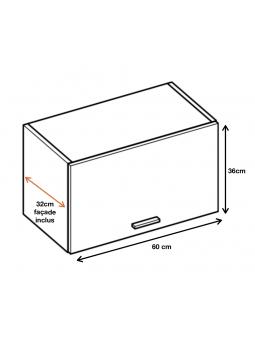 Dimension du meuble ref : WO6.