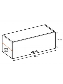 Dimension du meuble ref : WO9.