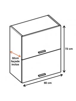 Dimension du meuble ref : WPO6.