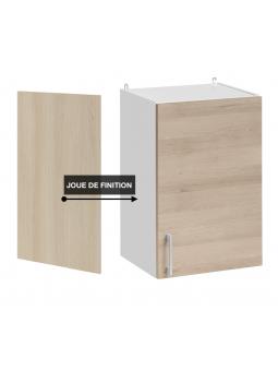 Panneau de finition pour meuble haut - décor chêne naturel
