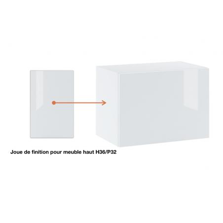 Joue de finition  pour meuble haut  slim ref : H36/L32.
