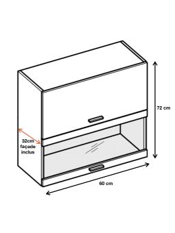 Dimension du meuble ref : WWPO6.
