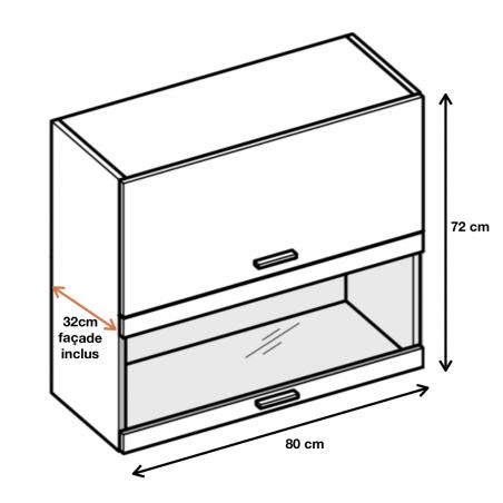 Dimension du meuble ref : WWPO8.
