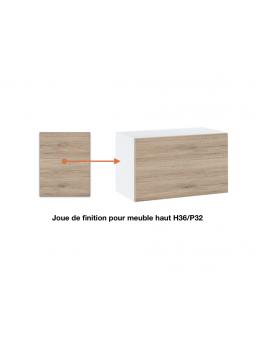 Joue de finition  pour meuble haut  slim ref : H36/32.