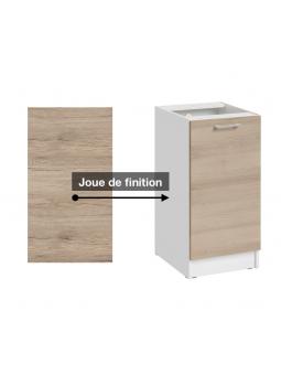 Joue de finition, décor chêne naturel - Cuisine collection ECO.