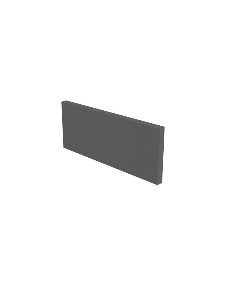 Plinthe de cuisine 200 cm - Gris mat