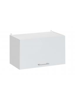 Meuble haut de cuisine - 1 porte relevable L 60 cm - eco blanc brillant