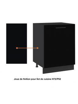 Panneau de finition pour îlot de cuisine - H72/L56 cm