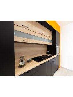 Colonne de cuisine pour réfrigérateur encastrable - 3 portes, L 60 cm