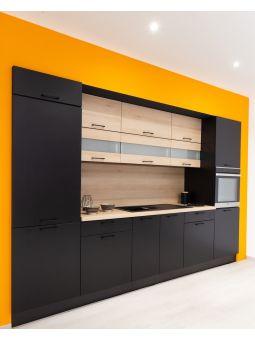 Meuble haut SLIM de cuisine - 1 porte relevable, L 90 cm