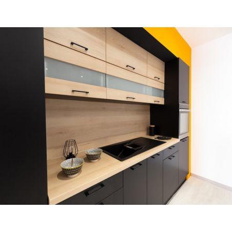 Meuble haut de cuisine - 2 portes relevables, L 80 cm