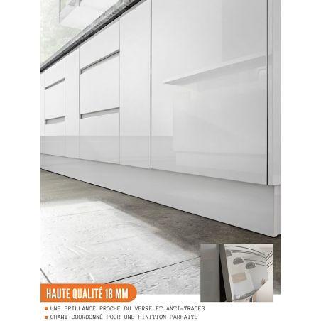 Meuble bas de cuisine - 1 porte, L 40 cm