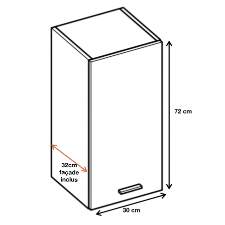 Dimension du meuble W3