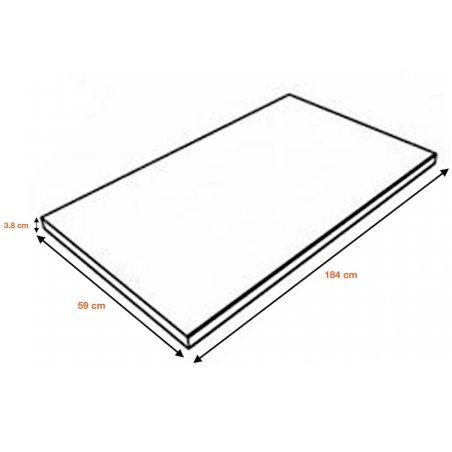 Plan de travail Chêne - Longueur 184 cm