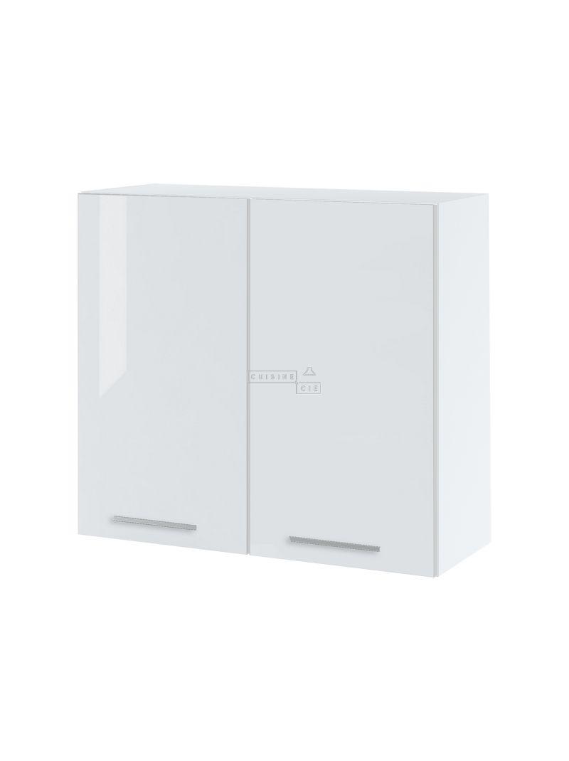 Meuble haut de cuisine - 2 portes, L 80 cm