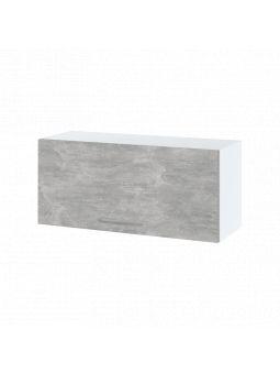 Meuble haut SLIM de cuisine - 1 porte relevable, L 80 cm