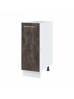Meuble bas de cuisine - 1 porte, L 30 cm - bellissi beton ardoise
