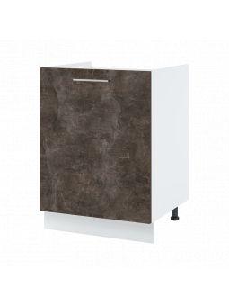 Meuble sous-évier - 1 porte, L 60 cm