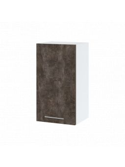 Meuble haut de cuisine - 1 porte, L 40 cm - bellissi beton ardoise