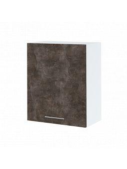 Meuble haut de cuisine - 1 porte, L 60 cm - bellissi beton ardoise