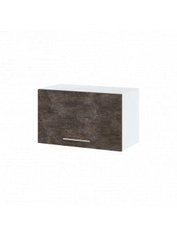 Meuble haut SLIM de cuisine - 1 porte relevable, L 60 cm - bellissi beton ardoise