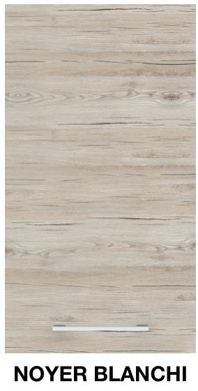 façade meuble de cuisine noyer blanchi.