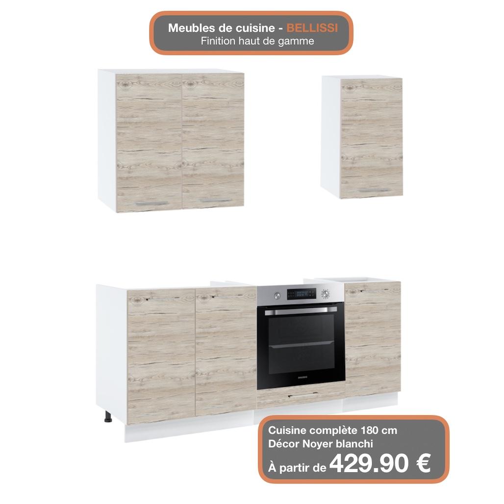 Colonne Four Et Micro Onde colonne de cuisine pour micro-onde et four encastrable - 2