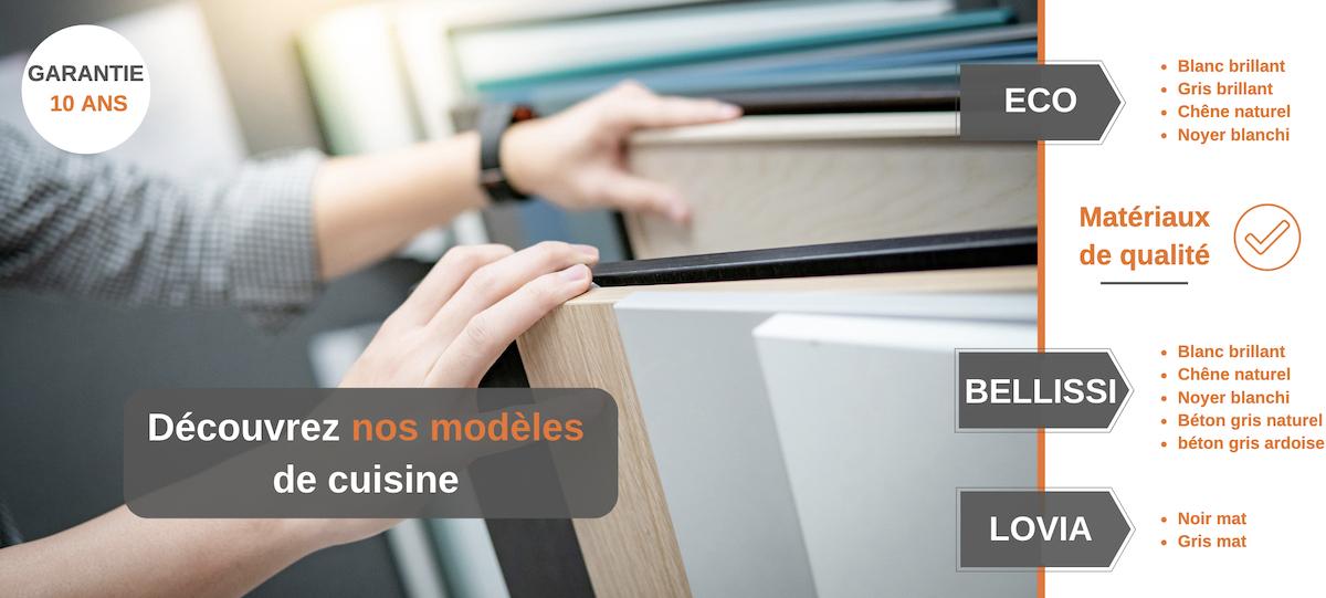 Nos modèles de cuisines